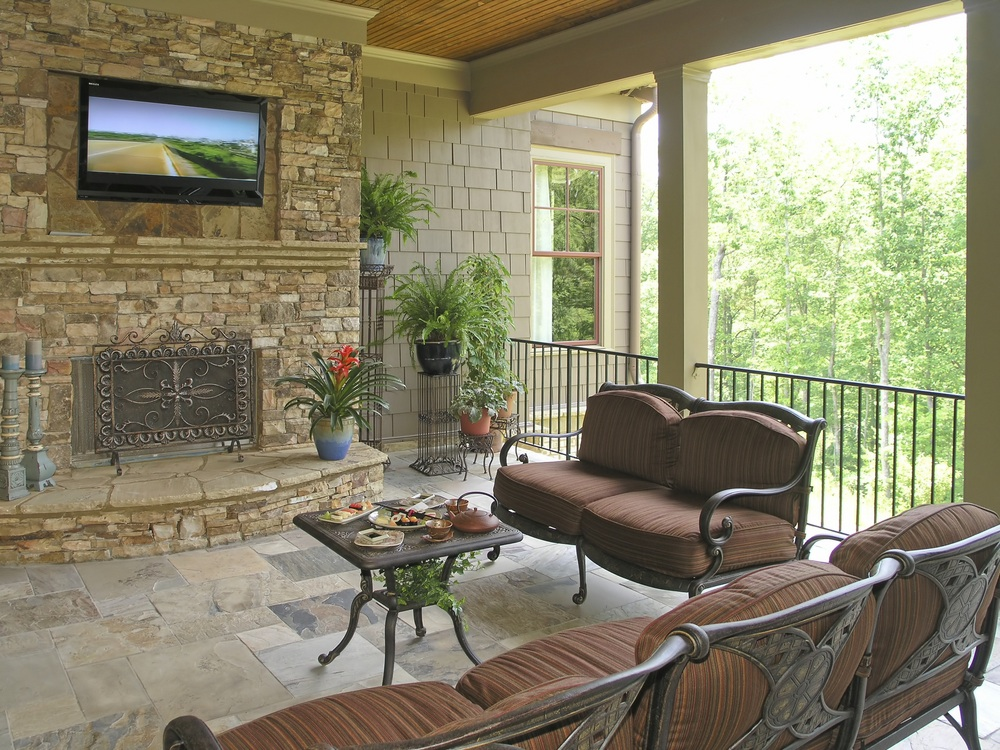 Austin outdoor home theater