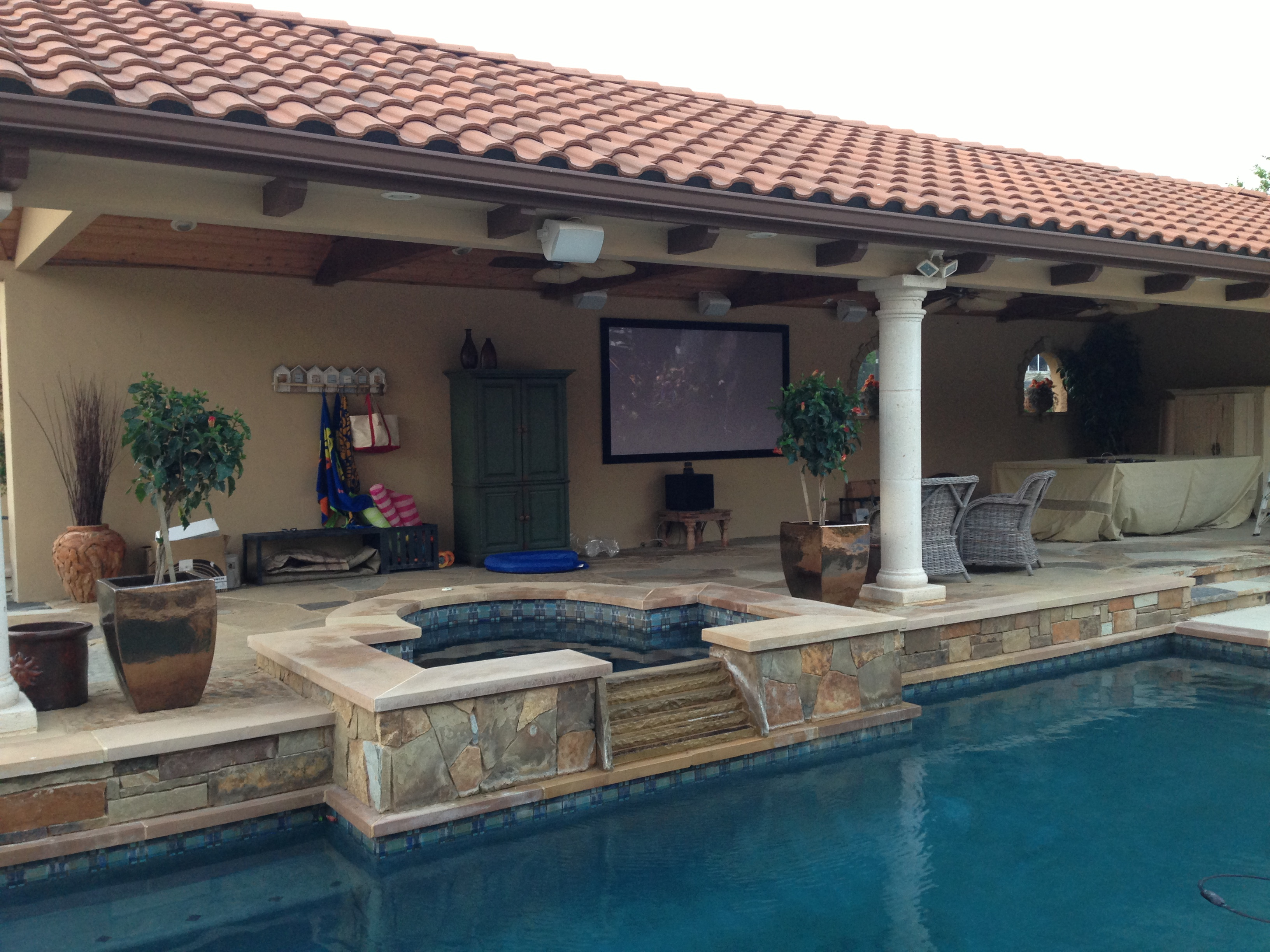 Outdoor Home Audio Amp Video Austin Tv And Sound System