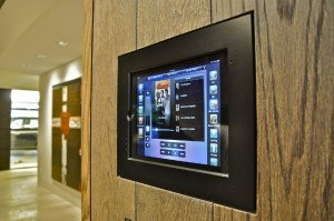 Home Automation control from in wall panels
